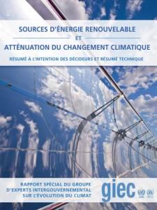 Vignette - Rapport GIEC Energies renouvelables 2011