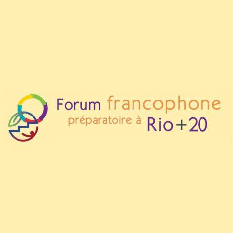 Séminaire sur la transition énergétique et Forum francophone préparatoire à Rio+20