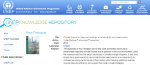 UNEP publications - capture