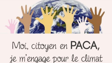 I, citizen in PACA, I commit myself for the climate