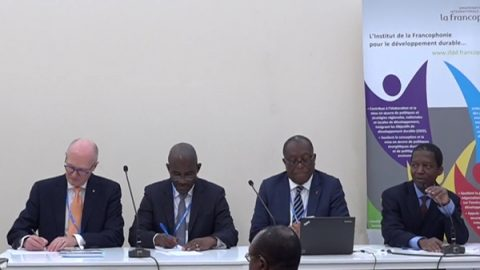 COP22 – La Francophonie's Initiative for Sustainable Cities