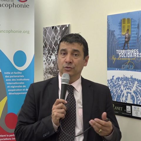 Presentation of the exhibition ART'S PLANET by ENERGIES 2050