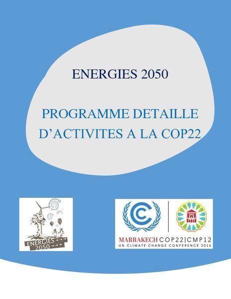 2016-12-12 – COP22_programme_complete_FR