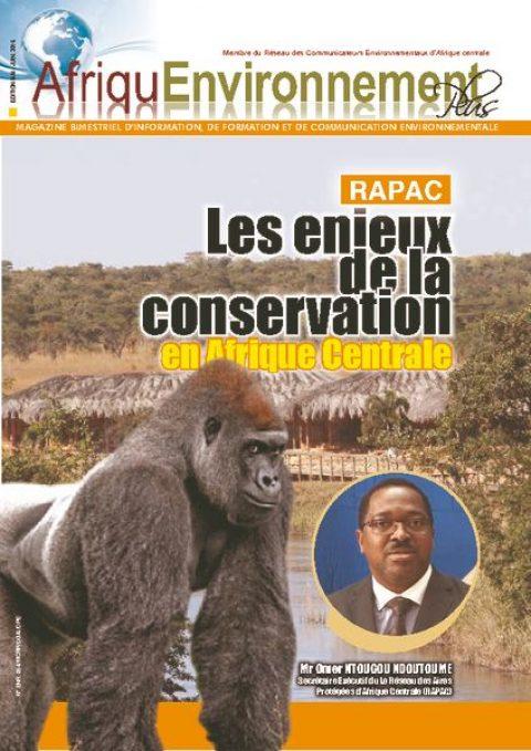 AEP : RAPAC Les enjeux de la conservation en Afrique Centrale