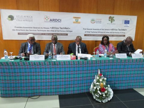 1st General Assembly of the Network of Technical Directors of the cities and territories of Africa