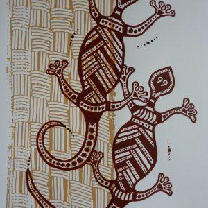 Les margouillats © Isabelle Staron-Tutugoro