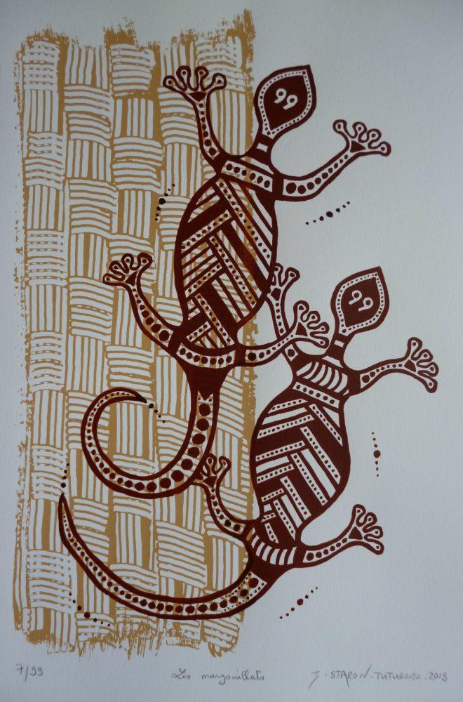 Les margouillats réduit © Isabelle Staron-Tutugoro