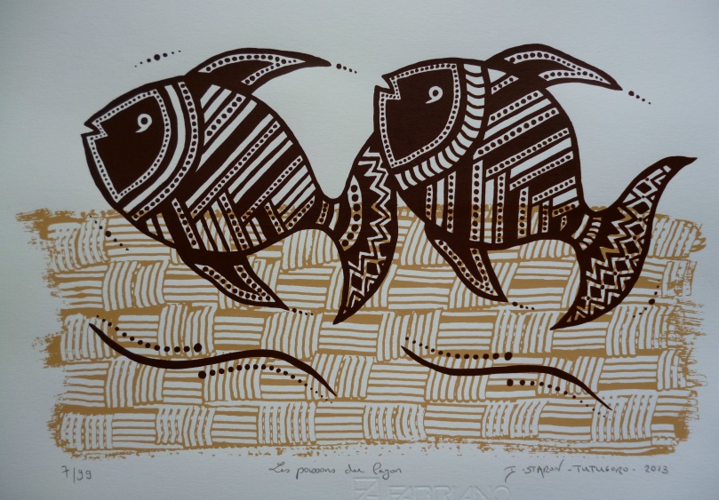 Les poissons du lagon © Isabelle Staron-Tutugoro