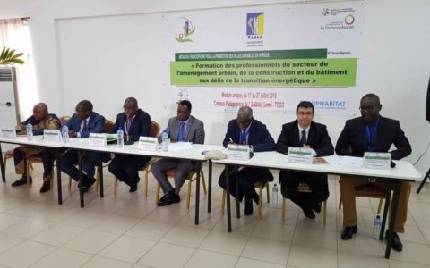 6ème session régionale – Formation des professionnels du secteur de l'aménagement urbain, de la construction et du bâtiment aux défis de la transition énergétique