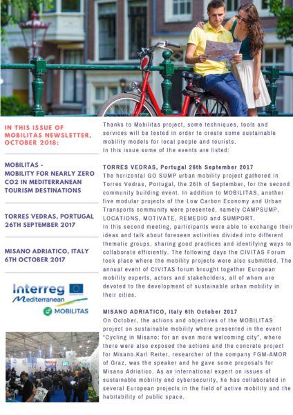 thumbnail of Mobilitas Newsletter OCTOBER 2018