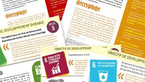 Objectifs de développement durable – Fiches