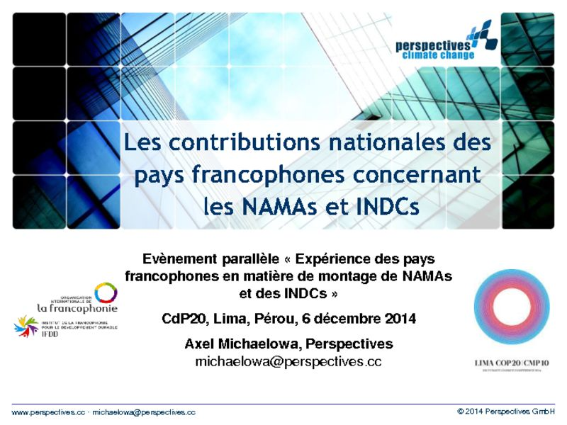 thumbnail of 2014-12-06-Side-event-NAMA-IFDD_Presentation-1_Axel-MICHAELOWA_NAMAs-INDCs