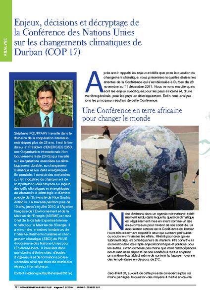 thumbnail of Pages 12-17 de AfriquEnvironnementPlus-Janv-Fev-12