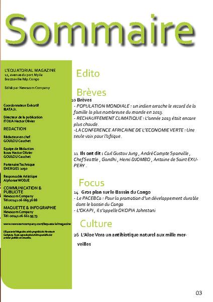 thumbnail of Pages de 2014-05 – L_Equatorial_Magazine_numéro 2_sommaire
