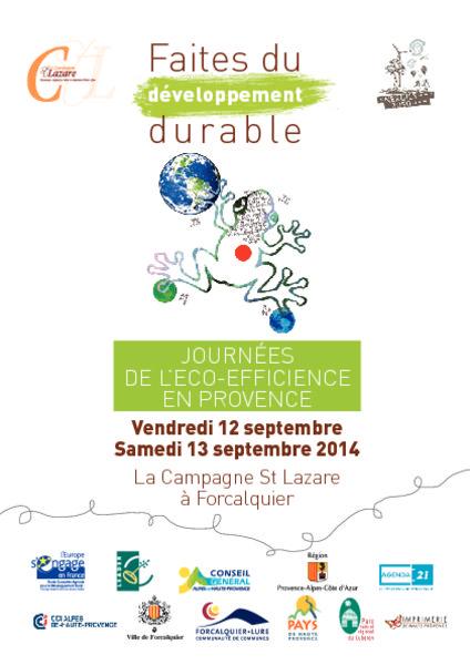 thumbnail of Programme-Faites-durable-2014web