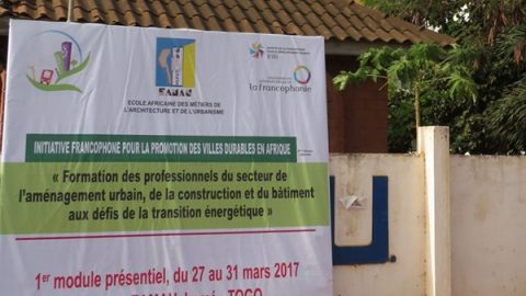 5ème session régionale – Formation des professionnels du secteur de l'aménagement urbain, de la construction et du bâtiment aux défis de la transition énergétique