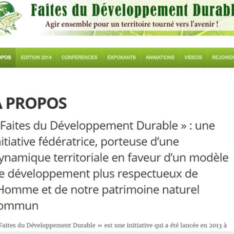 Faitesdudeveloppementdurable
