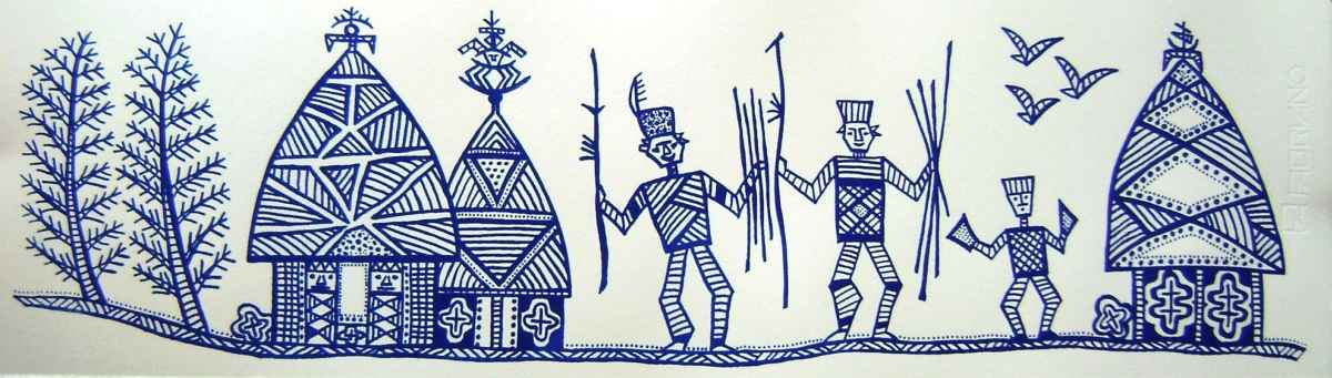 La tribu © Isabelle Staron-Tutugoro