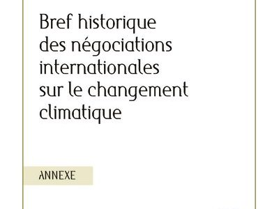 2019-11_IFDD_Annexe-Negociations-Climat_CdP25_10pages_FR